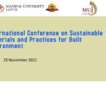 Sustainable Materials and Practices for Built Environment - Made with PosterMyWall
